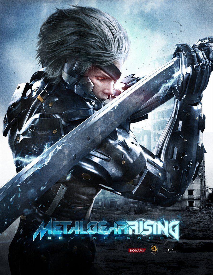 Póster Metal Gear Rising Revengeance Metalgear Metalgearrising Raiden Metalgearvengeance Action Metal Gear Juegos De Acción Metal Gear Rising Revengeance