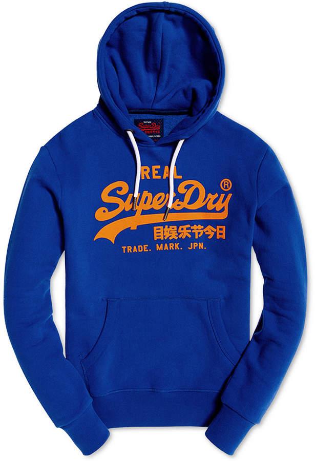 Superdry Men Vintage Logo Hoodie Superdry Mens Mens Sweatshirts Vintage Men