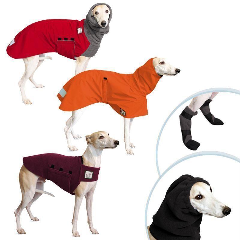 4d9cd60974d3a Complete Apparel Line Dog Jacket Set includes Whippet Winter Dog ...