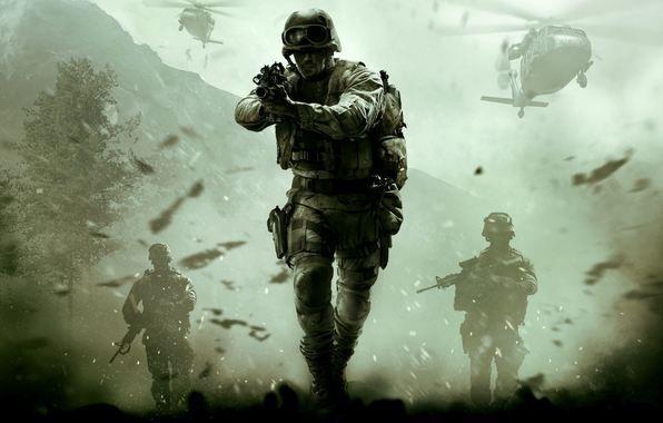 Oboi Call Of Duty Modern Warfare Remastered Activision Infinity Ward Kartinki Na Rabochij Stol Razdel Igry Skachat Voennoe Iskusstvo Specnaz Boevik