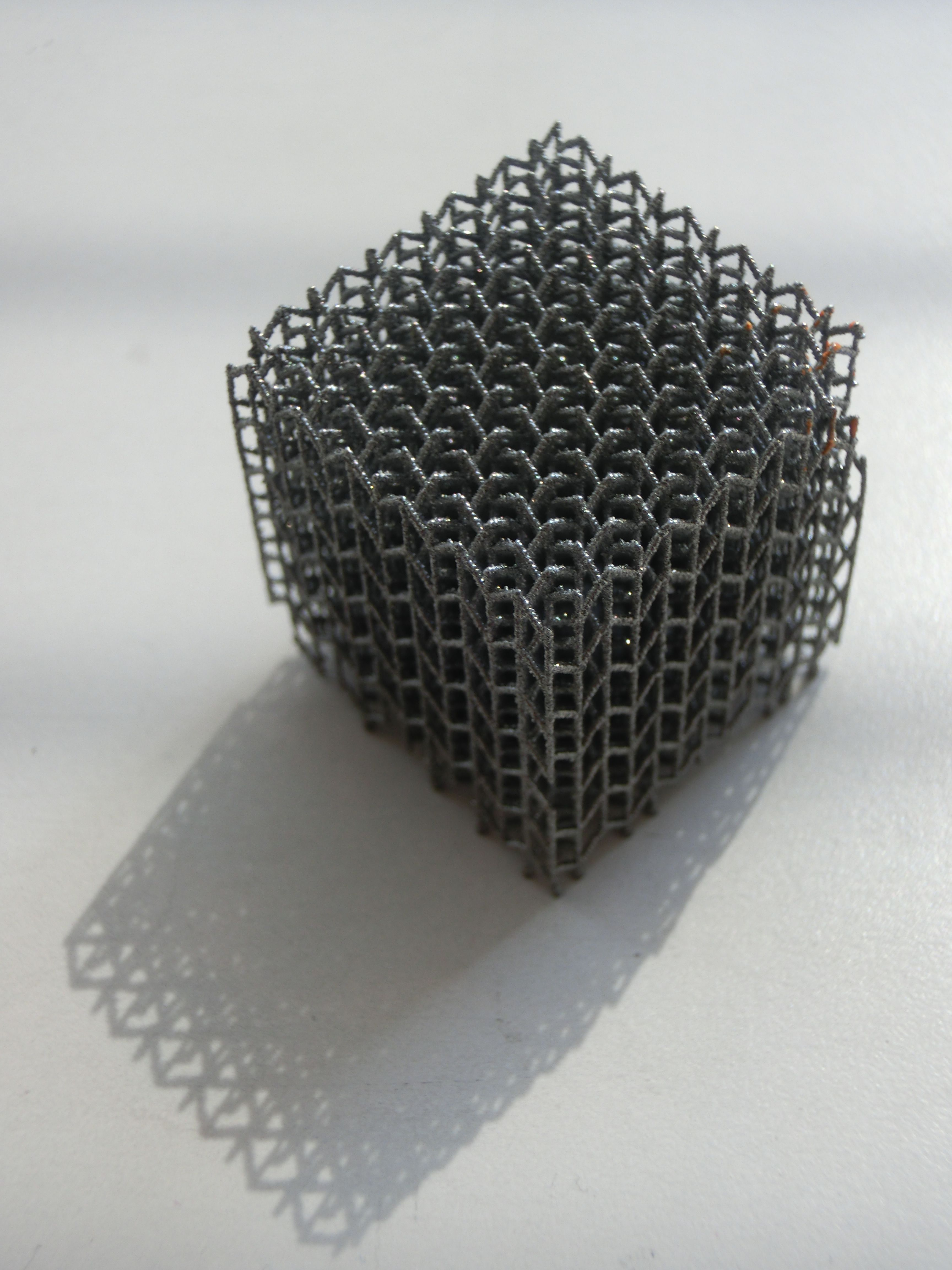 3D printed metal design by Polyshape 3d printed metal