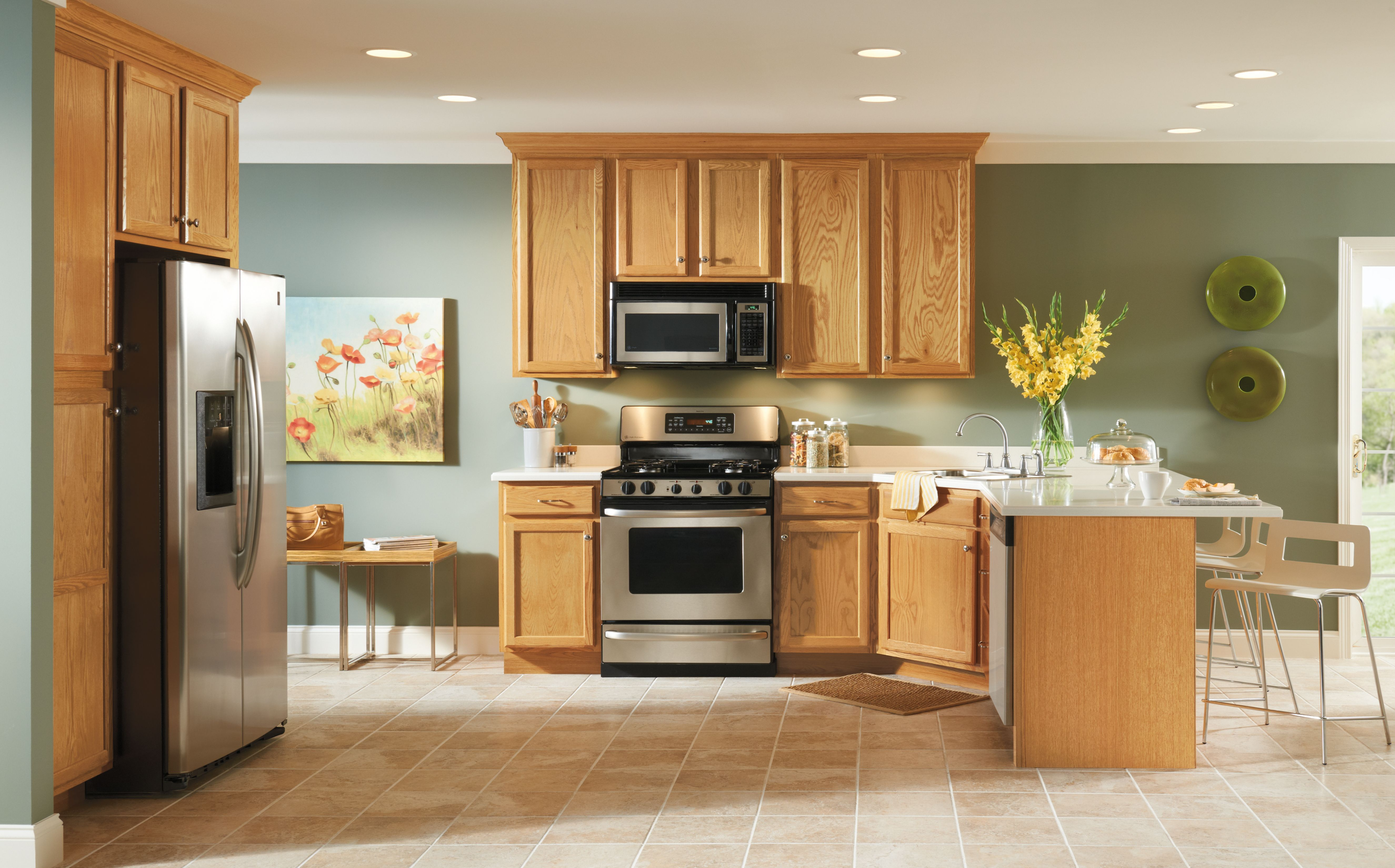 Kitchen Cabinets & Design by Contractor's Choice | Kitchen ...