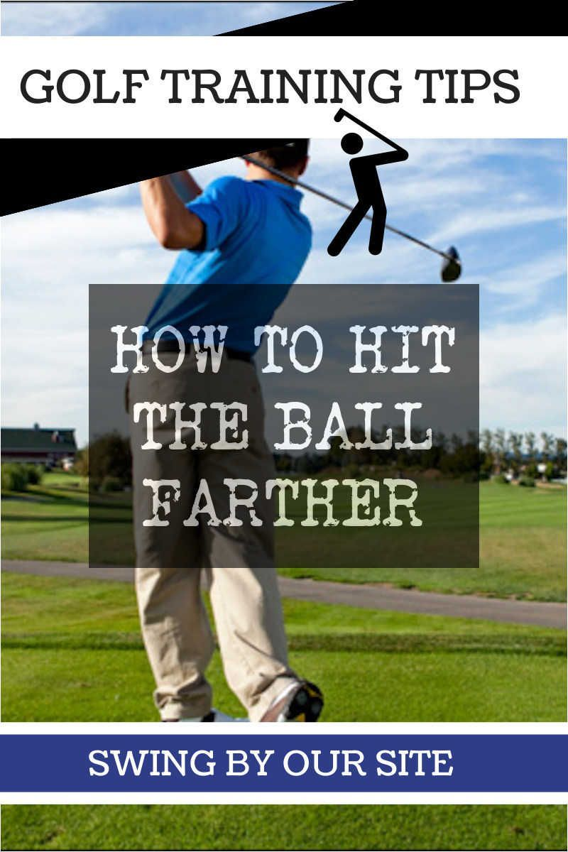Golf Swing Training How to Hit the Ball Farther www