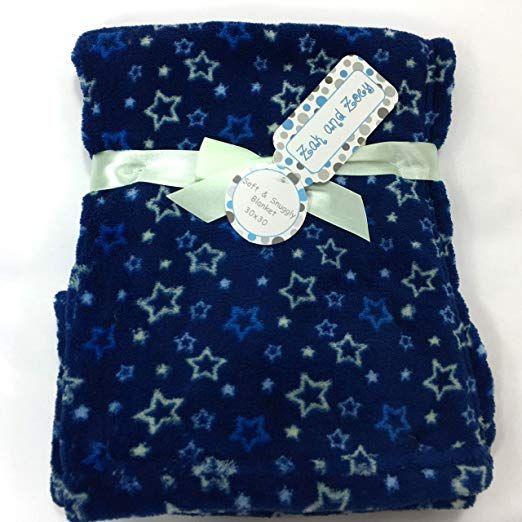 Amazon Com Zak Amp Zoey Soft Amp Snuggly Stars Blanket