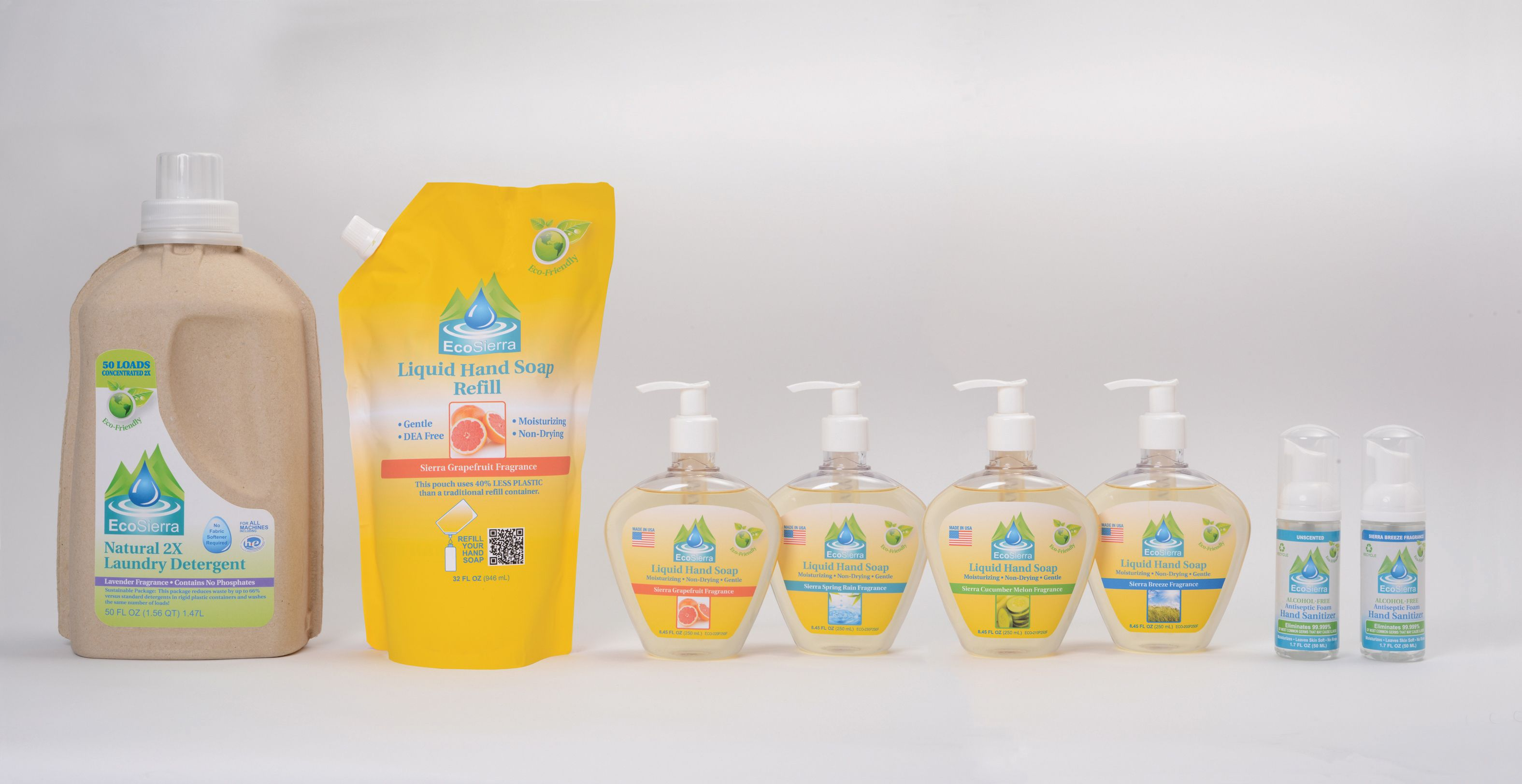 New Environmentally Friendly Household Personal Cleaning Products