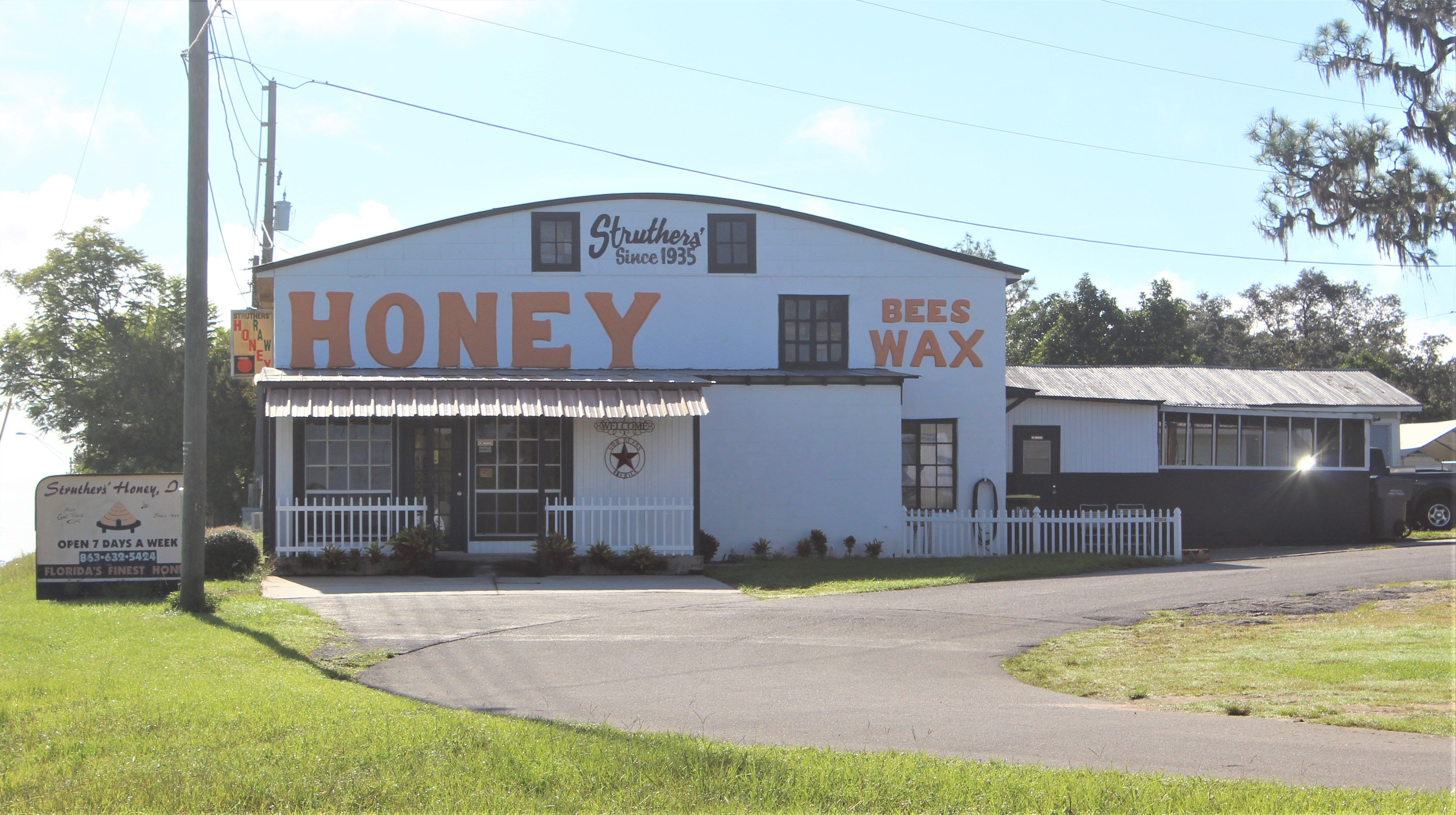 Leave Your Credit Cards At Home Struthers Honey Lake Wales Honors System Lake Wales Outdoor Decor