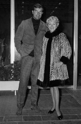 Lana Turner with her 6th husband Robert P. Eaton