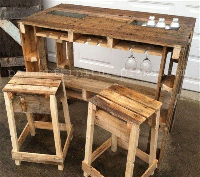 Diy Wooden Pallet Furniture Ideas That Illustrates Us The Fun Part