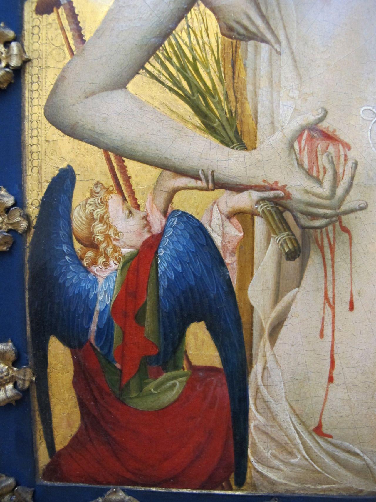 Master Francke The Man Of Sorrows Detail 1420 Art
