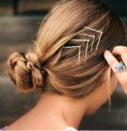 #accessorize with bobby pins!