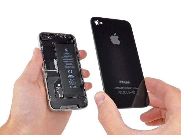 installing iphone 4 front glass display assembly ifixit rh pinterest com iPhone 4 Manual User Guide iPhone 4G Instruction Manual for Dummies