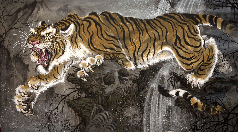 e900660c8 Images For > Chris Garver Work | Ceramics in 2019 | Tiger tattoo ...