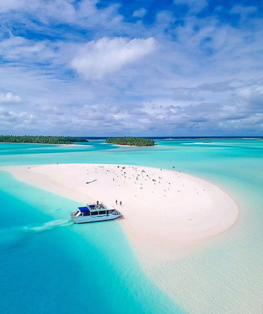 Cook Islands Best Beaches: Aitutaki, Cook Islands ☀️🏝️ 📸 @_markfitz (With Images