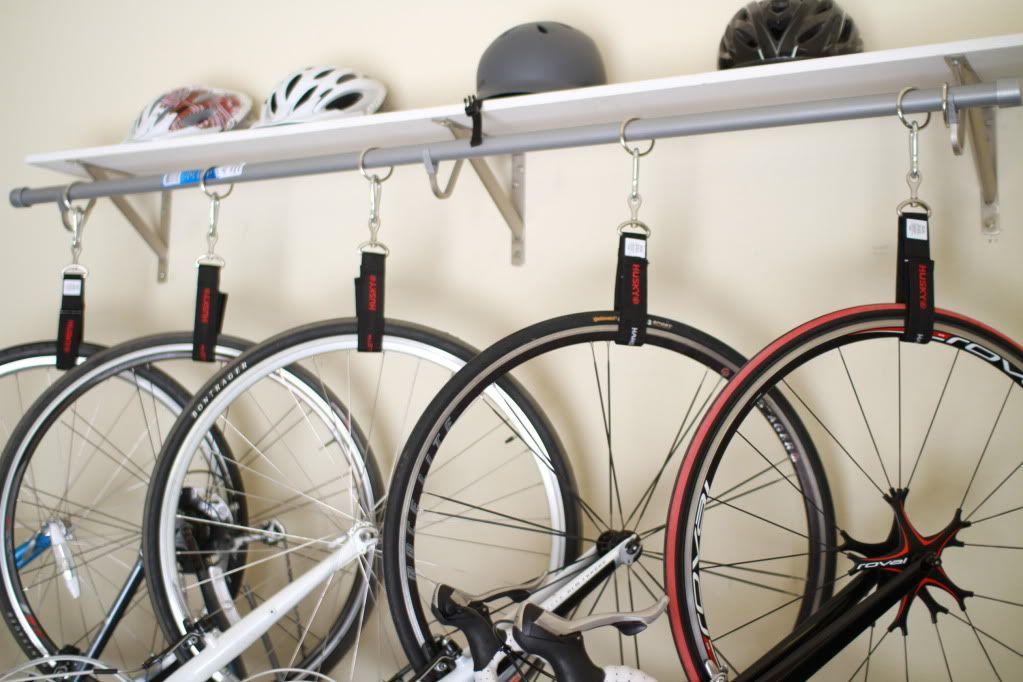 Diy Bike Rack For 90 Bike Storage Garage Wall Hanging