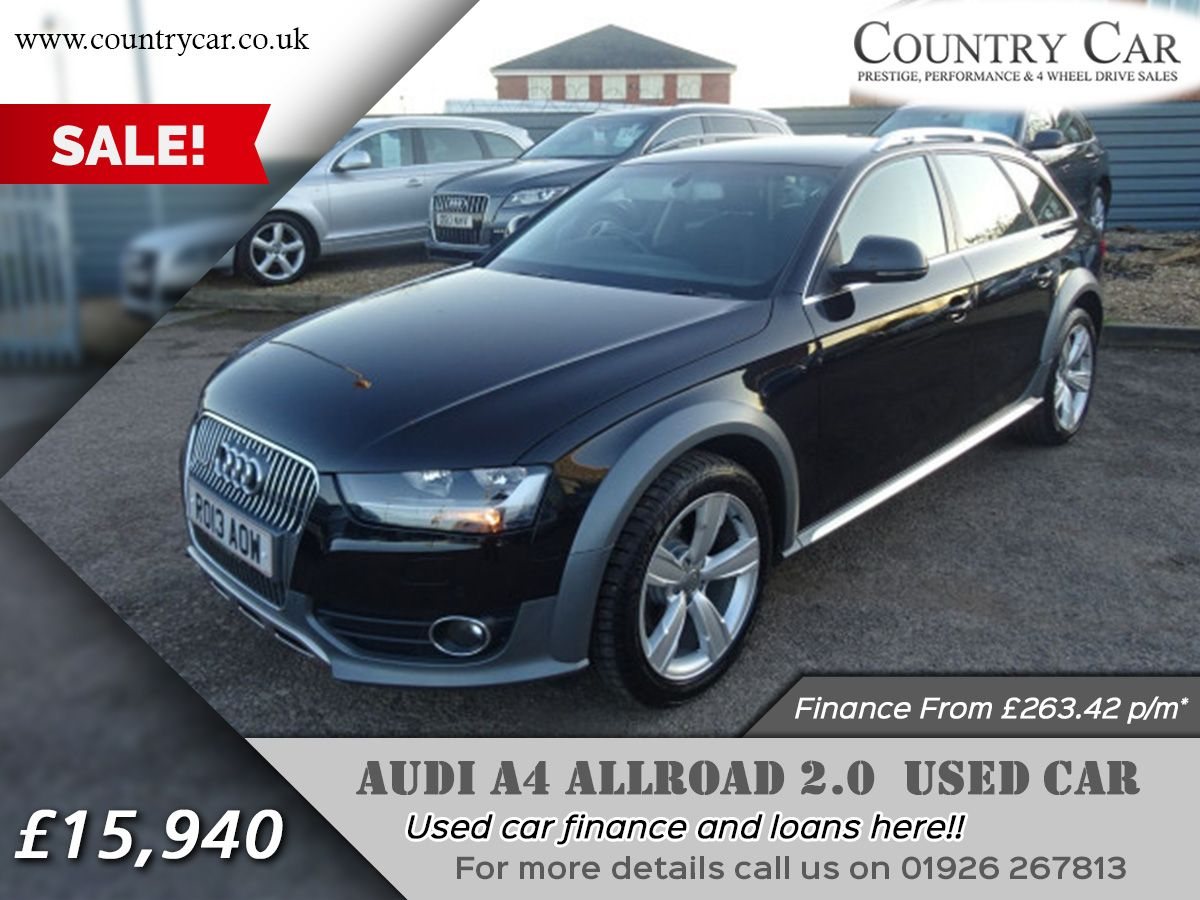 AUDI A ALLROAD USED CAR Finance From Pm - Audi car finance