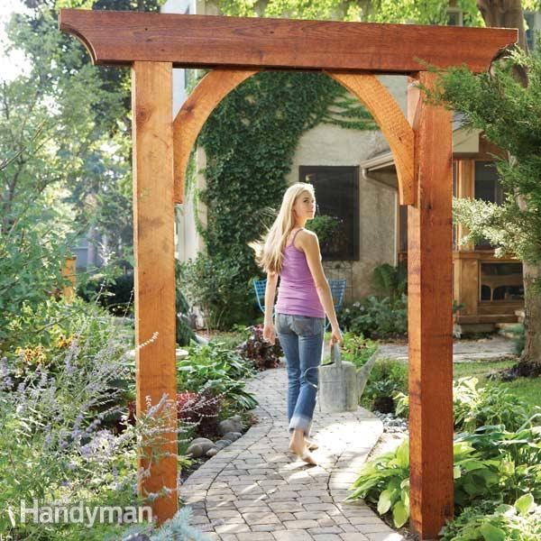 Build A Garden Arch Garden Archway Garden Arches Classic Garden