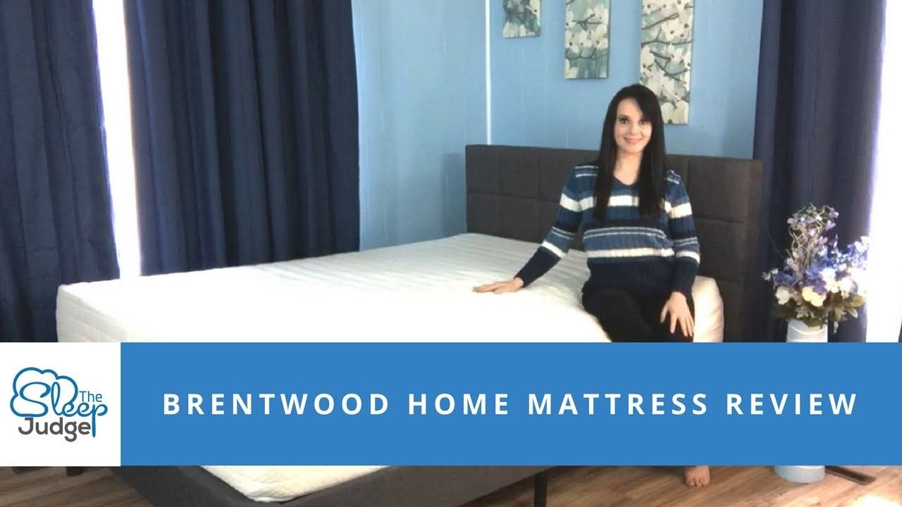 Brentwood Home Bamboo Gel 13 Inch Mattress Review Mattresses Reviews Brentwood Gel Mattress