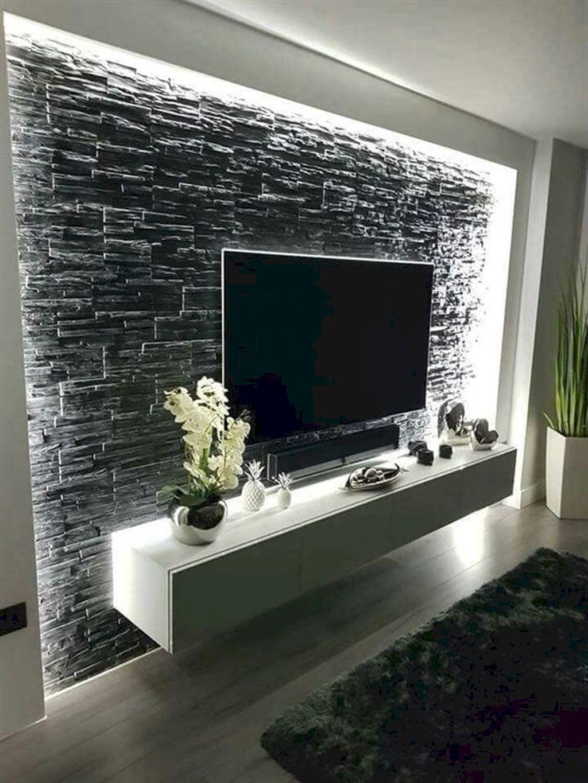 4 Efficient Ideas Floating Shelf Wall Interior Design Black Floating Shelf Picture Ledge Floating Living Room Tv Wall Modern Tv Wall Units Living Room Tv Unit