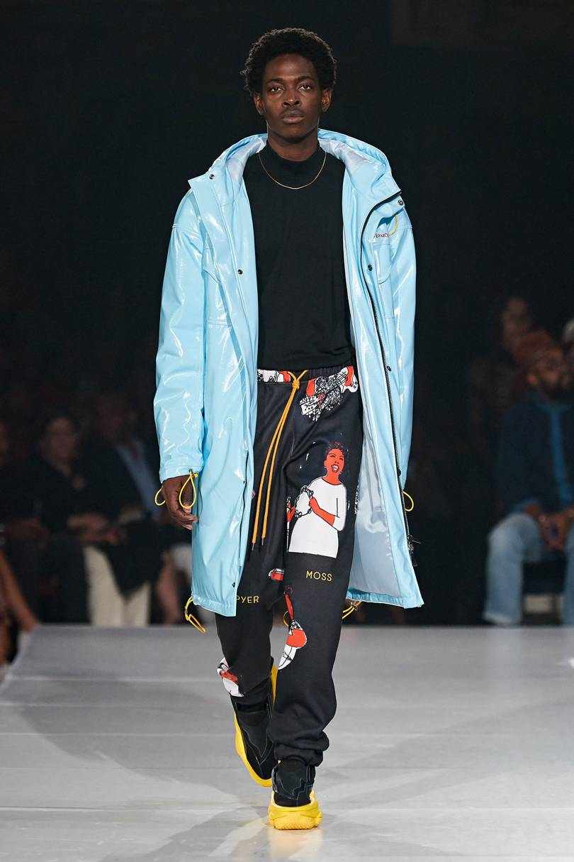 Black Fashion Designers 2020.Pyer Moss Spring Summer 2020 Ready To Wear Runway Black