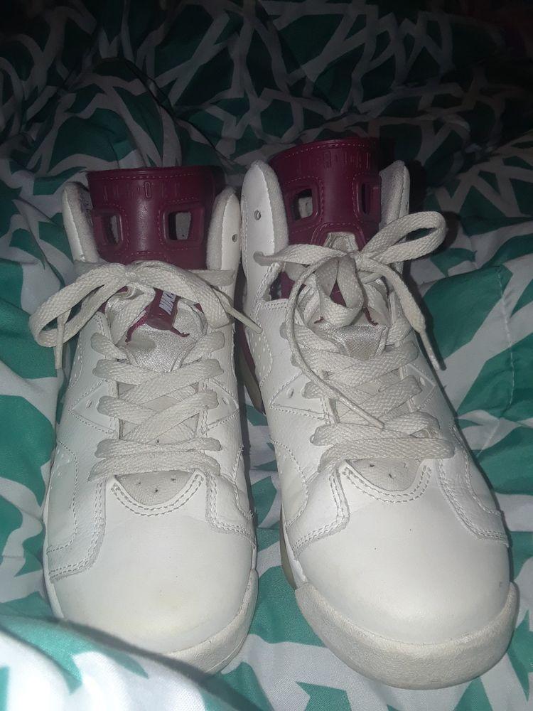 online store 115c5 8c9fb Nike Air Jordan Retro 6 Maroon Size 5.5  fashion  clothing  shoes   accessories  mensshoes  athleticshoes  ad (ebay link)