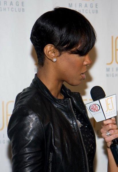 Kelly Rowland Hair Jpg 412 598 Short Hair With Bangs Short Hair Styles Hair With Flair