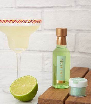 Green Lime Margarita Cocktail Set #limemargarita