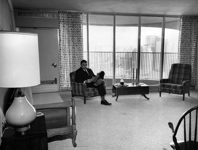 East Tower Apartment Chicago Sun Times 1962