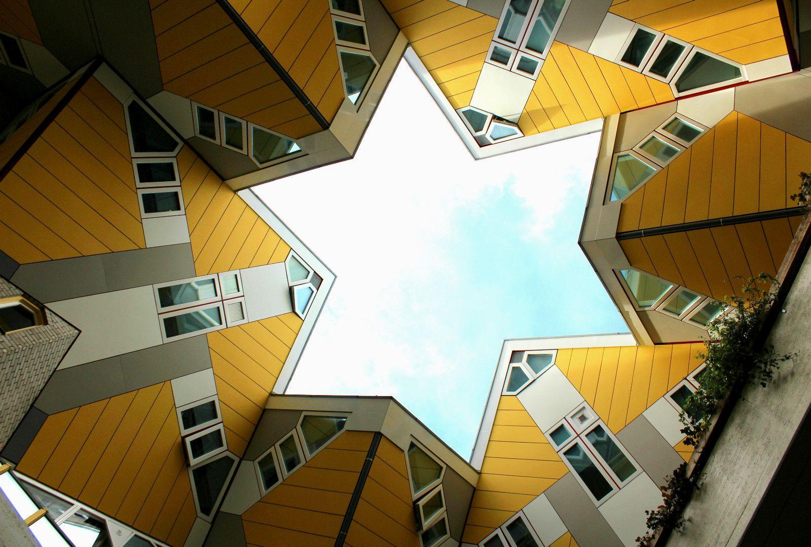 HOLANDA Conheça as Casas Cubo de Rotterdam por dentro e