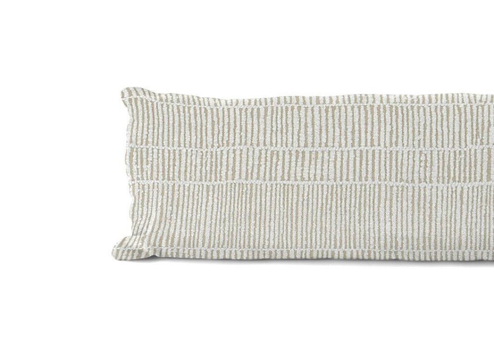 12x40 Beige Stripe Pillow Cover Extra Long Pillow Case Etsy In 2020 Stripe Pillow Pillow Covers Long Pillow