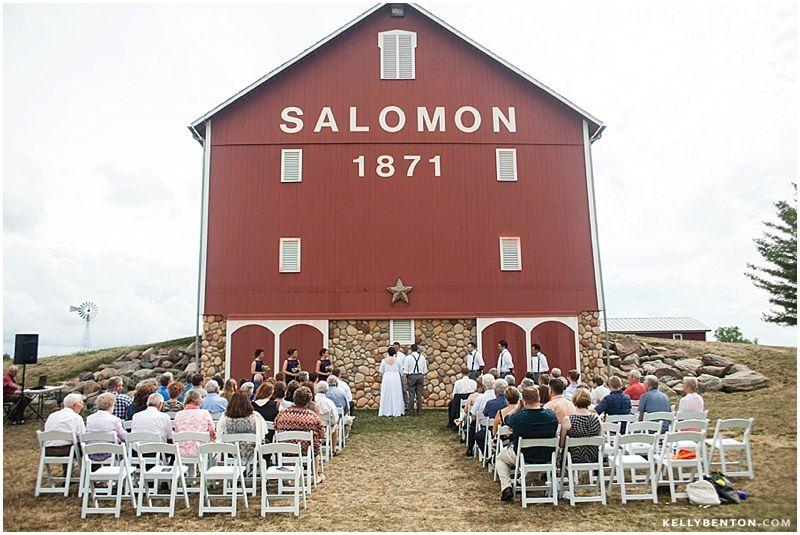 Amanda brandon at salomon farm fort wayne wedding