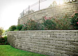Oklahoma Landscape Find Yourself Outside Tulsa Landscape Design Challenges Slopes Landscape Design Retaining Wall Back Porch Designs
