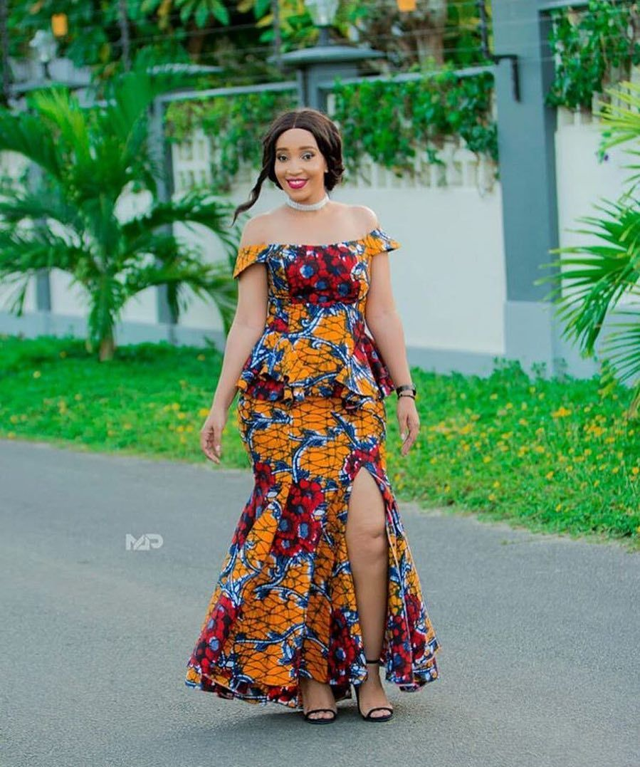 Ghana lace dress styles  Greetings Here are  Creative Stylish and Dazzling Ankara Styles