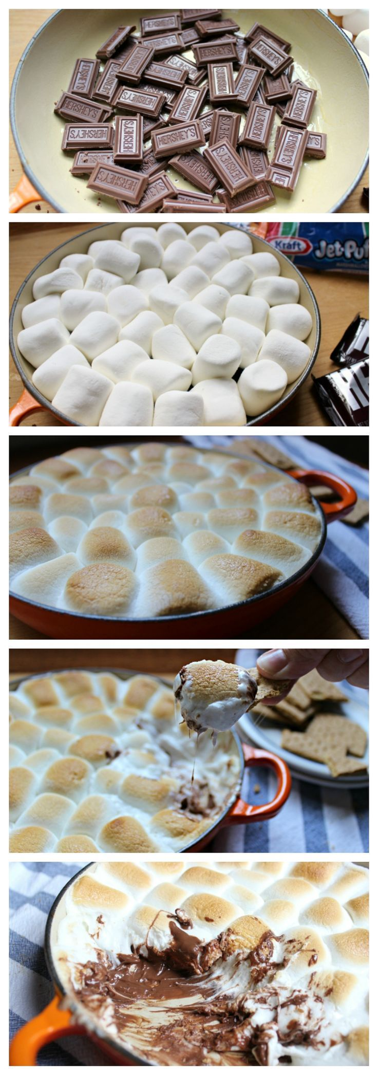 Smores Dip Recipe (Made In the Oven) - Cleverly Simple