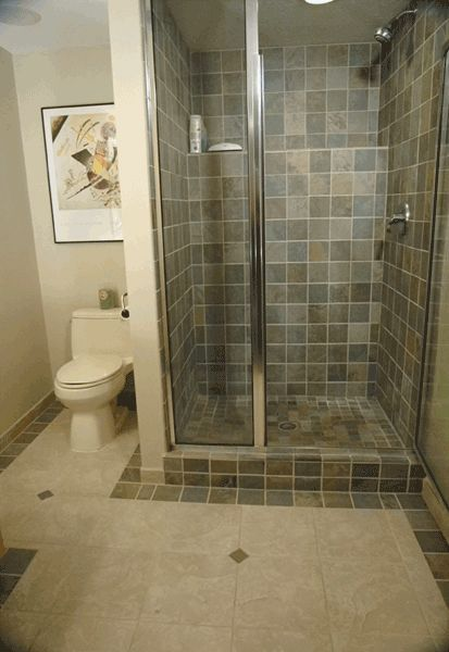 Earth Tone Shower Tile