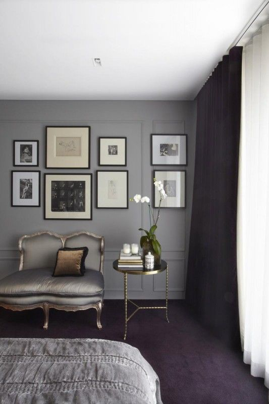 Incroyable Taupe Gray Walls, Very Calming Palette