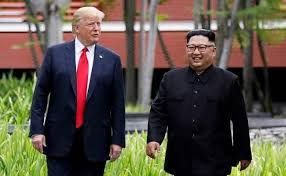 'We fell in love': Trump swoons over letters from North Korea's Kim