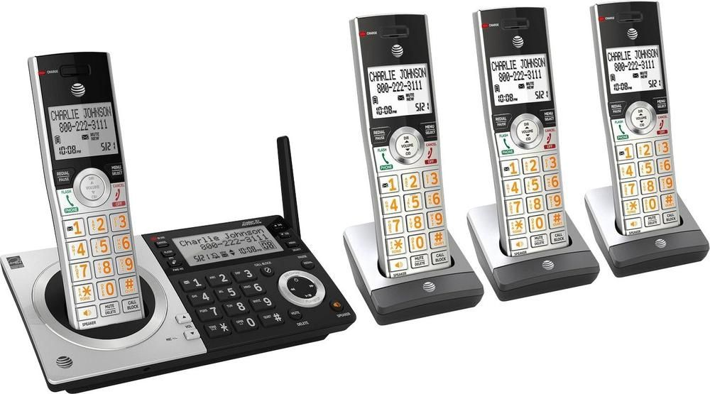 At&t CL83407 Dect 6.0 Expandable Cordless Phone System