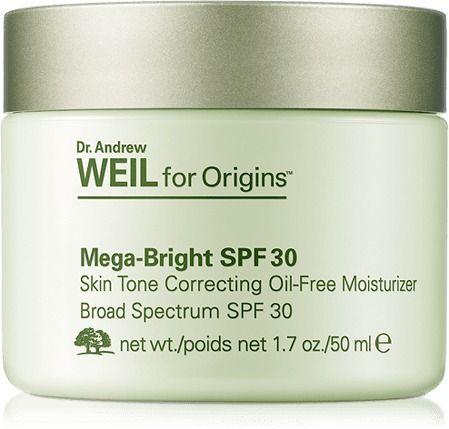 Origins Dr Andrew Weil For Originsa Mega Bright Spf 30 Oil Free Moisturizer Products Moisturizer
