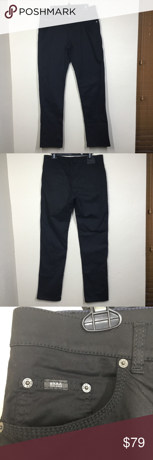 pick up official site best authentic Brax Cooper Perma Black Denim Jeans These perma black denim ...