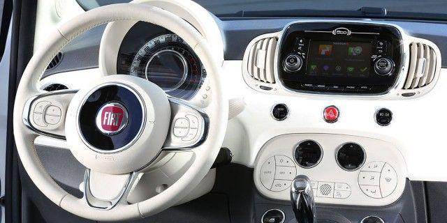 Mclaren P1 Concept Con Drs Y Tecnologia F1 Fiat 500 Cabrio