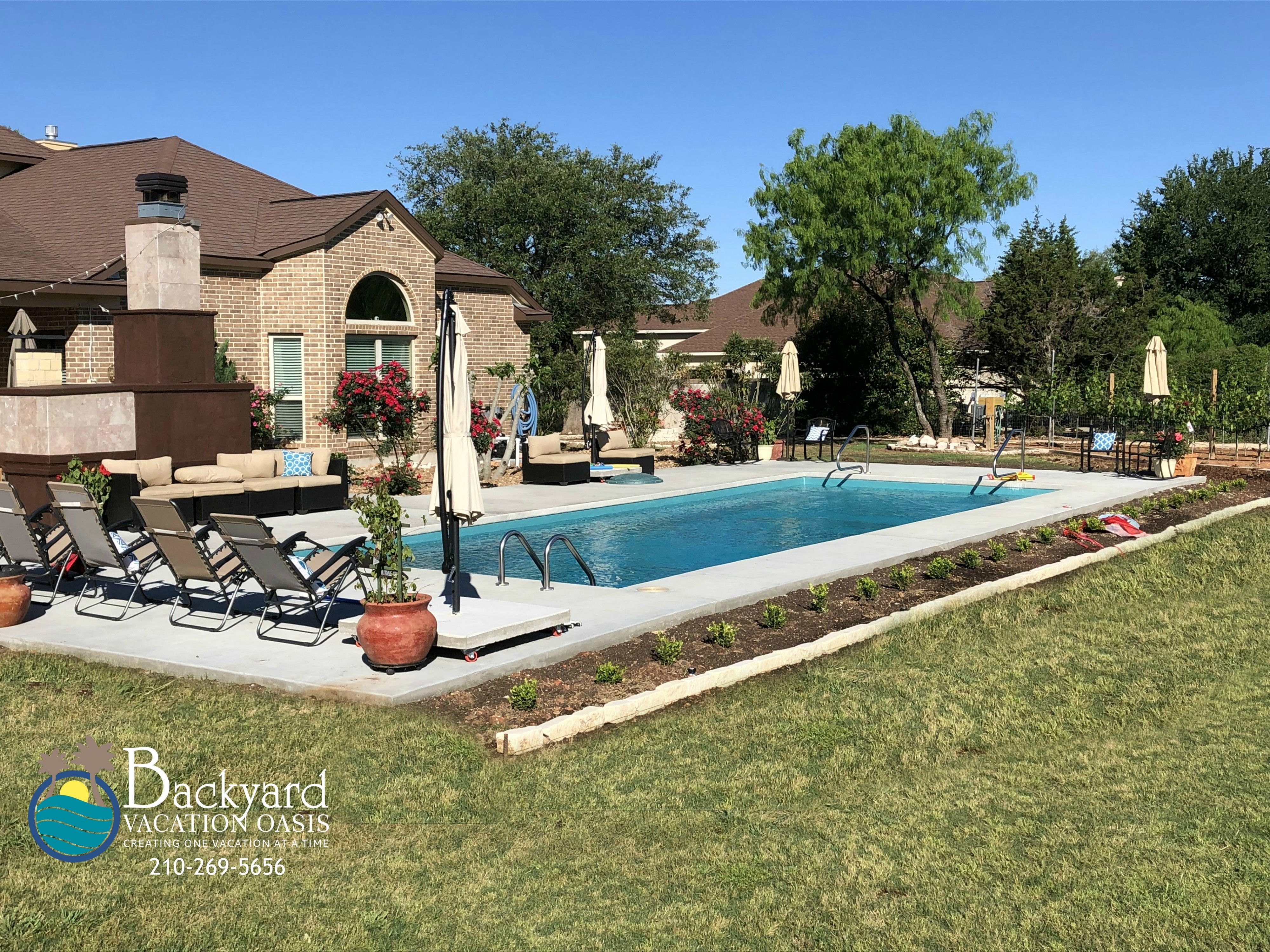 Backyard Vacation OAsis #backyardoasis