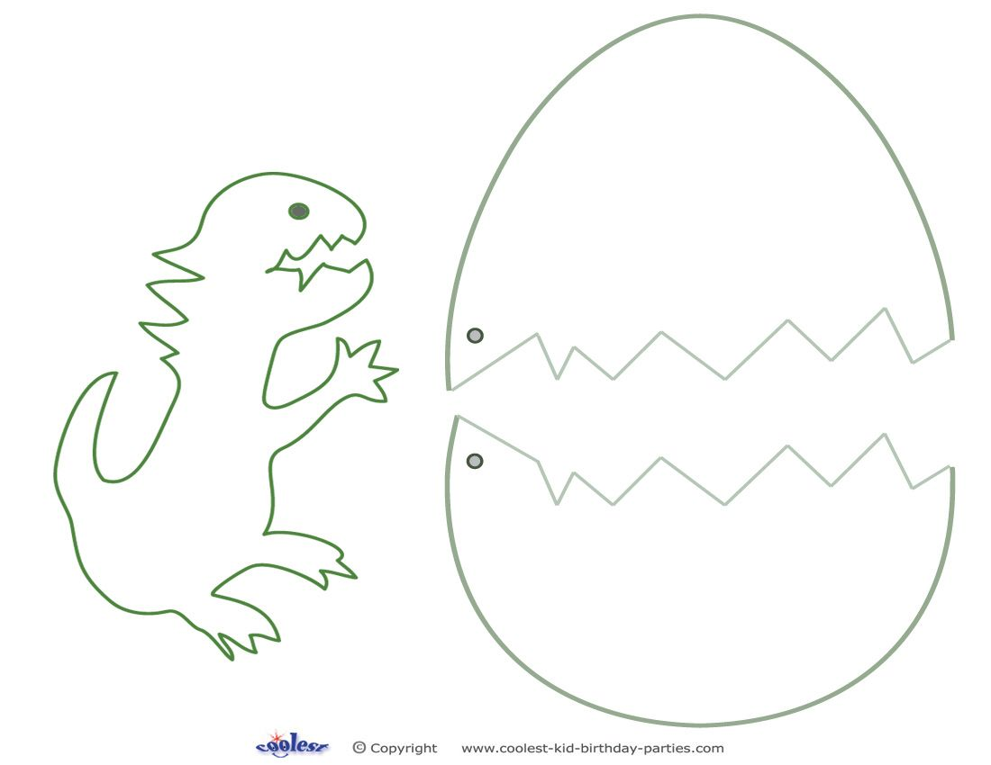 Medium printable dinosaur craft coolest free printables for Arts and crafts templates
