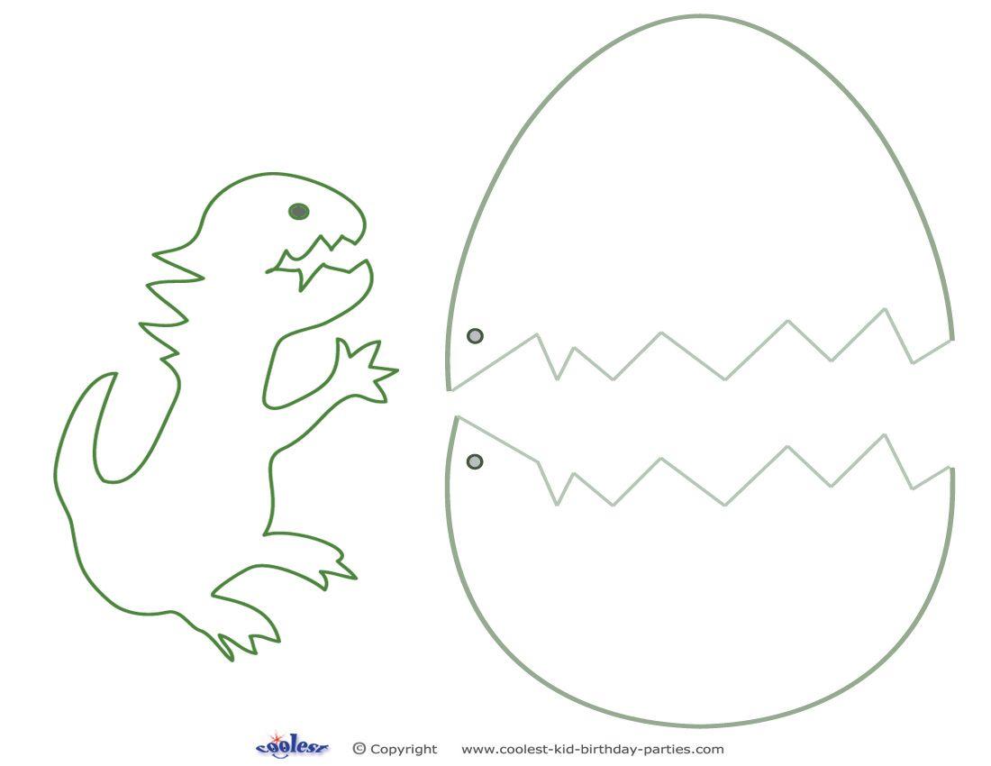 Medium Printable Dinosaur Craft