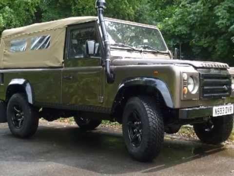 Land Rover Perentie 4X4 Interior