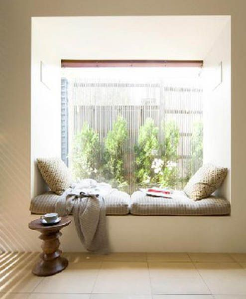 window seat ideas | 18 Window Seat Design and Interior Decor Ideas,  Beautiful Window .