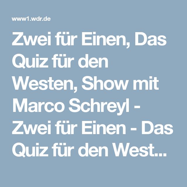 Das Quiz Für Den Westen
