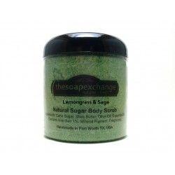 Lemongrass & Sage Body Scrub
