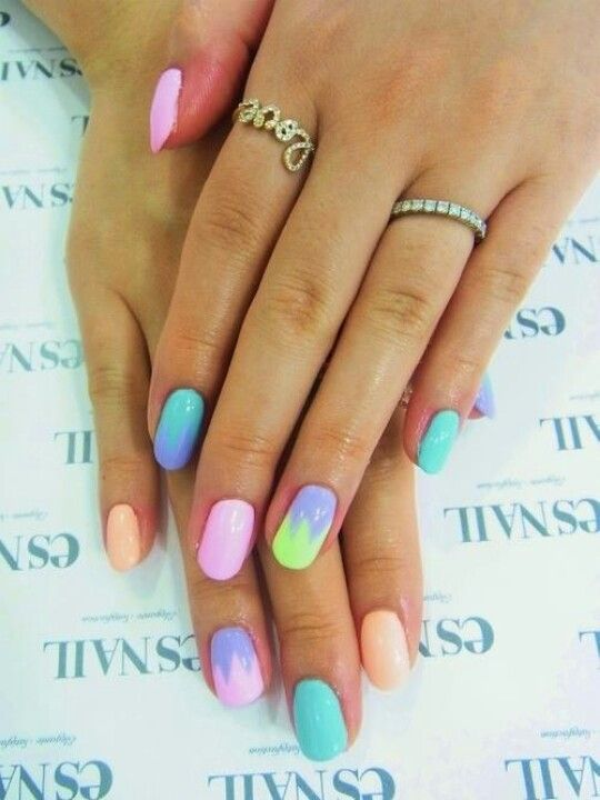 Discover In Summer Season Young S Would Love To Do Diffe And Unique Nail Art Designs Check The 30 Latest Trends Of Pastel