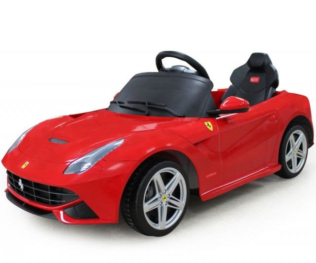 Big Toys Ferrari California 12V Car   Red Photo Gallery