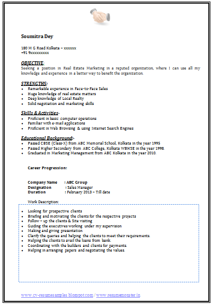 and resume samples with free download graduate marketing jennifer ...